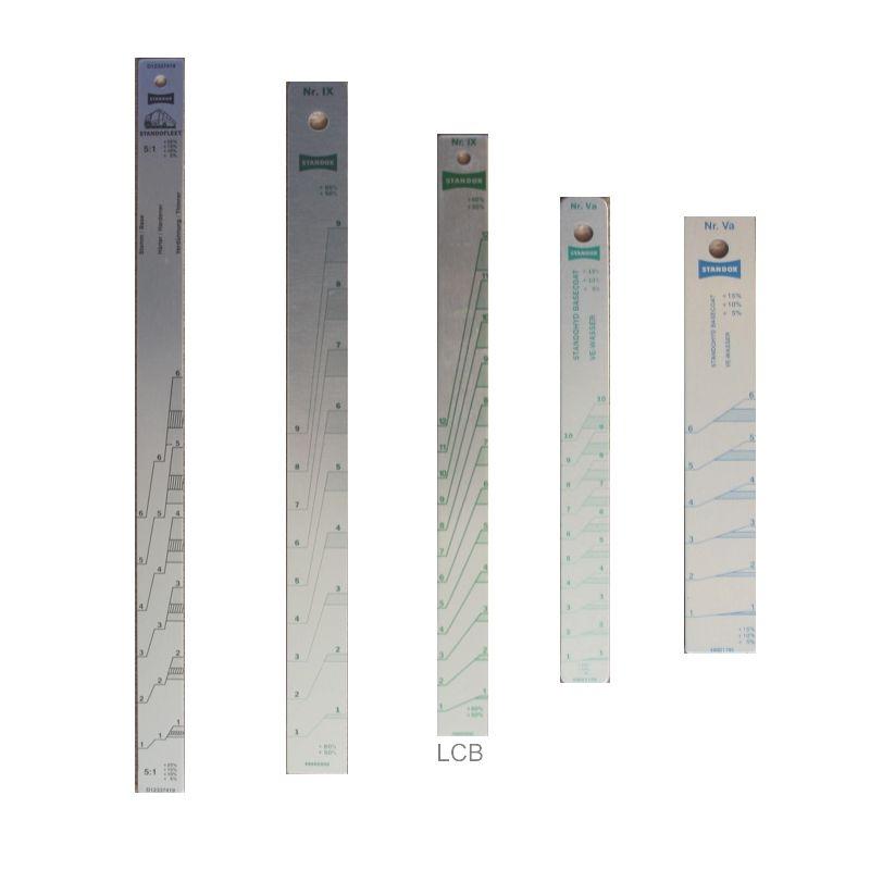 Meßstab 2:1 ca. 37 cm Länge