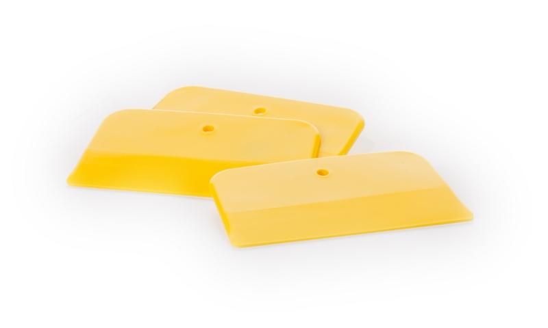 ED Spachtelklinge lösungsmittelfest 8 x 13cm - gelb