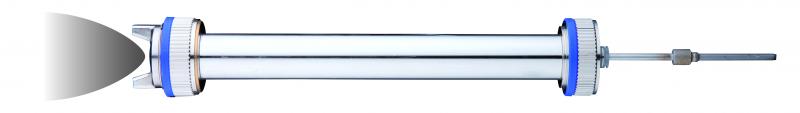 Verlängerung mit Standarddüse (0°) 20 cm mit Düsensatz 1,6 RP für SATAjet 1000 B RP