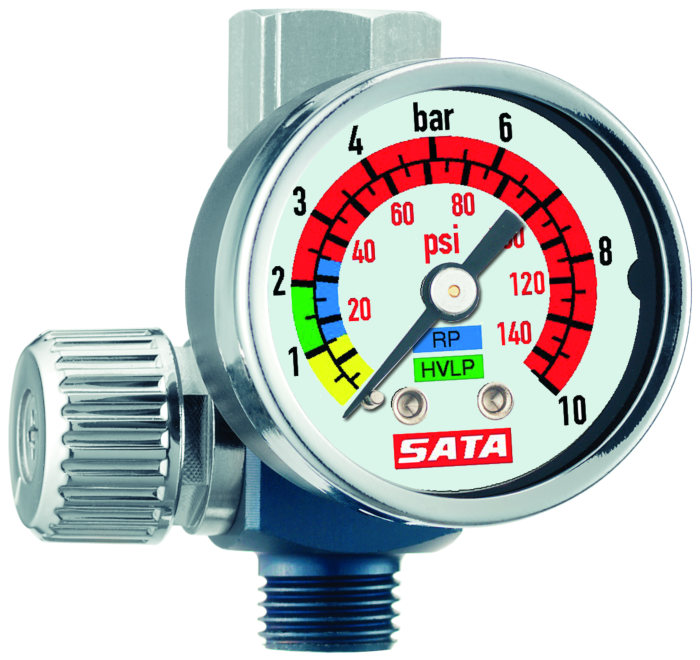 SATA Luftmikrometer 0-845 mit Manometer