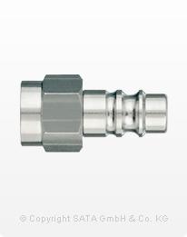 SATA Schnellkupplungsnippel G 1/4 IG