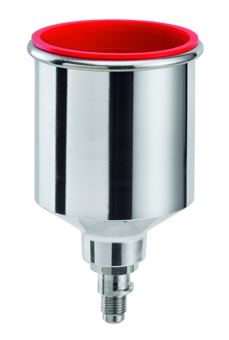 SATA QCC Alu Schnellwechsel Fliessbecher 0,15 l für SATAminijet 3000 B HVLP, minijet 4 HVLP