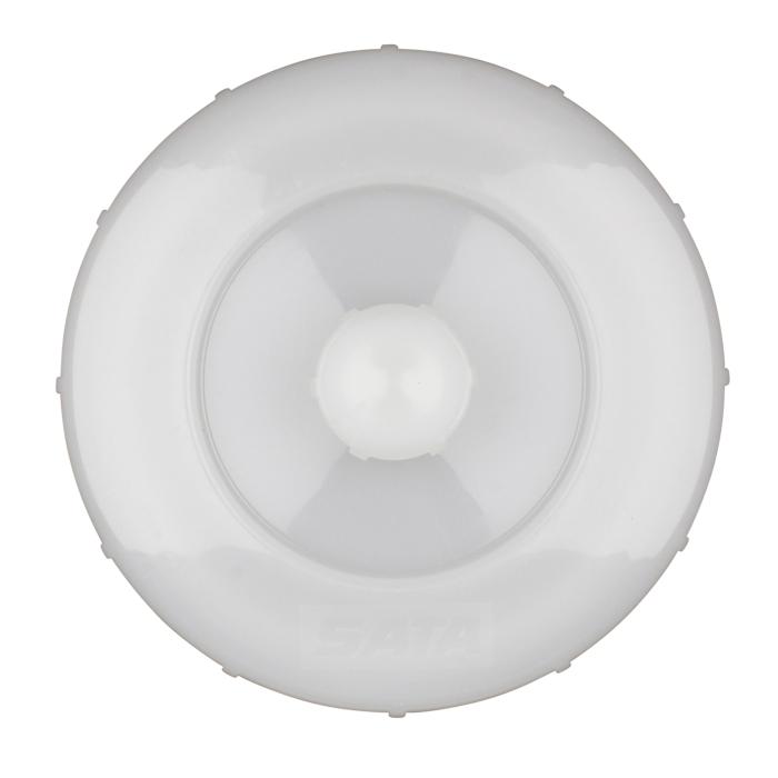 SATA Schraubdeckel mit Tropfsperre für Kunststoffbecher 125ccm QCC für SATAminijet 1-4, Dekor 2000 und SATAjet 20B