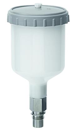 SATA QCC Kunststoff Schnellwechsel Fliessbecher 0,3 l