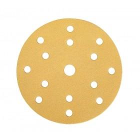 Mirka Gold Scheiben 150mm 15-fach gelocht - Grip - 100 Stück