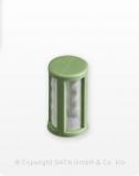 Ersatz Stecksiebe pastellgrün 200µm für SATA RPS (100 Stück)