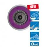 3M Hookit Direct Flow II Schleifteller - Multihole - Ø 150 mm, standard, M8, grau