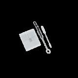SATA Reinigungs-Set  (2 Reinigungsbürsten und 12 Nadeln)