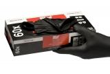 Colad Nitril Einweg Handschuhe Extra (schwarz) Spenderbox mit 60 Stück