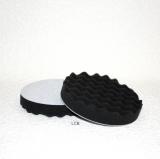 Hochglanzpolierpad 150mm genoppt schwarz