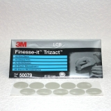 3M Finesse-it Trizact 466 LA Film Schleifblüten 32mm - 10 Stück auf Bogen