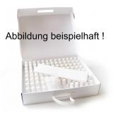 100 Stück PINSELFLASCHEN 20ml aus Kunststoff in wieder verschließbarer Koffer-Box