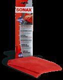 Sonax Microfasertuch für Außen 40x40 cm Farbe: rot