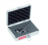 SATAgraph 1 Airbrush-Pistole mit Düse 0,25mm und 2,5 ml Fließbecher im Alu-Koffer ohne Schlauch