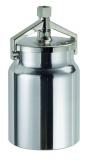 SATA Alu Hängebecher 1,0l mit Deckelarmatur für SATAjet H, LM/H, GR/H passend