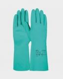 Becker Wibeko Nitril Chemikalienschutz - Handschuh 4100 silikonfrei - Farbe: Grün