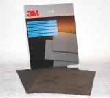 3M 314 Schleifpapier - 230mm x 280mm - wasserfest - 25 Stück