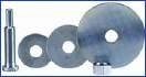 3M Spanndorn für Reinigungsscheiben - 6mm Schaft