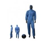 Becker/Wibeco Lackieranzug 1400 mit Kopfhaube, blau